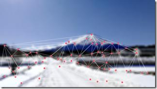 3Dパノラマで撮影した画像データ